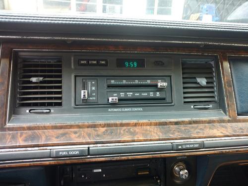 town car, control de clima y rejillas