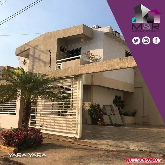 town house en venta en puerto ordaz yara yara i  m&r- 202