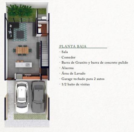 town house privado cerca de plaza la isla