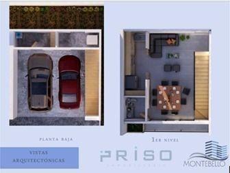town houses en privada en montebello