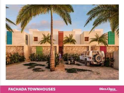 town houses y villas diez cinco chicxulub