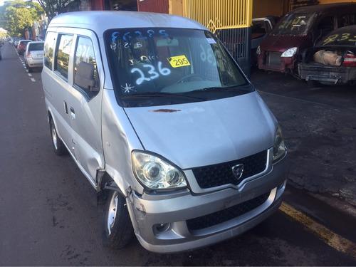towner hafei minivan  2011/2012    sucata  somente pecas