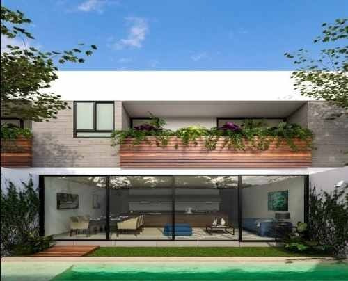 townhouse con amenidades  en temozon norte, sao