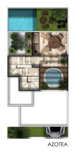 townhouse en venta en chicxulub, norte de mérida. thv-5592