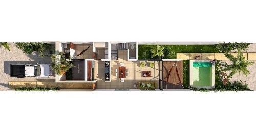 townhouse en venta en chicxulub puerto, zona norte. thv-5695