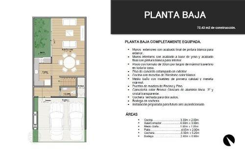 townhouse en venta en luoma monte albán