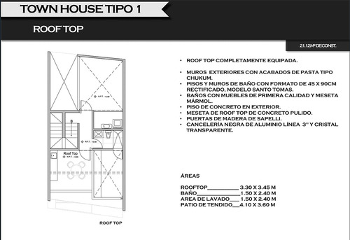 townhouse en venta en san ramon norte