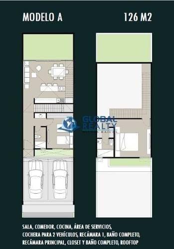 townhouse en venta, montebello, zona urban center. thv-4799