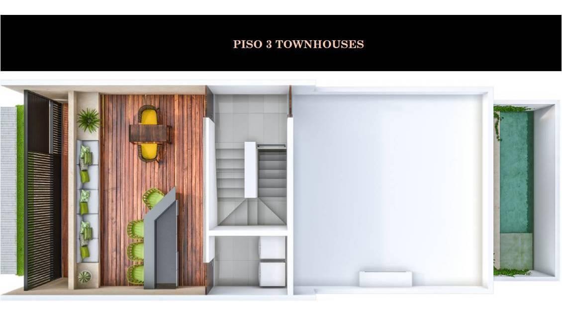 townhouse en venta, privada en temozon norte. thv-5008