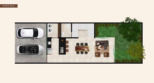 townhouse en venta, santa rita cholul, zona norte. thv-5712