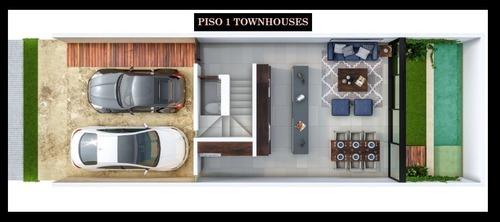 townhouse en venta sao, temozón