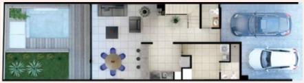 townhouse nuevo en venta en alessia, santa gertrudis copó, mérida norte