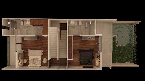 townhouses con sistema inteligente.