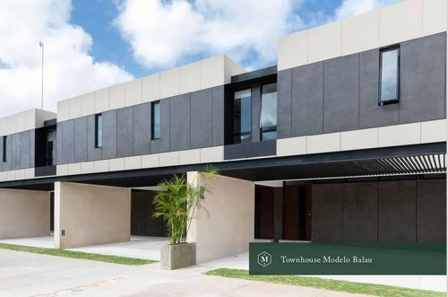 townhouses de lujo en privada exclusiva madero 54 en mérida