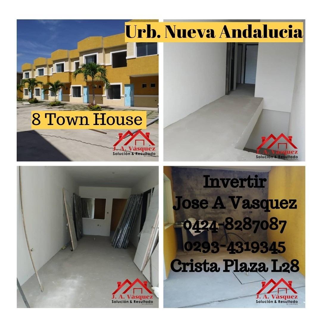 townhouses en venta cumana. av cancamure nva andalucia
