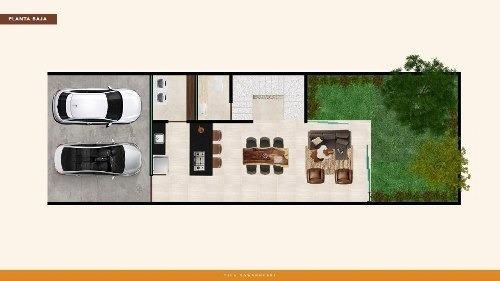 townhouses en venta tila, santa rita cholul