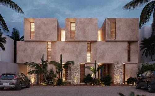 townhouses frente a la playa, punta de vista