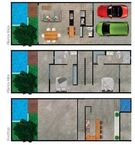 townhouses kuro modelo b