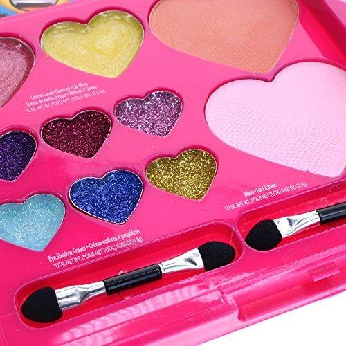 Townley Girl Emoji Sparkly, Shiney Cosmetic Set Para Niñas,