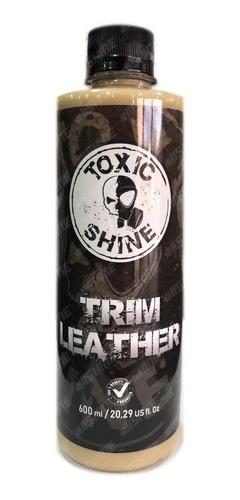 toxic shine trim leather - acondicionador protector de cuero