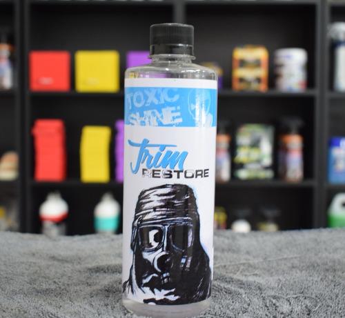 toxic shine trim restore restaura acondiciona plasticos ext