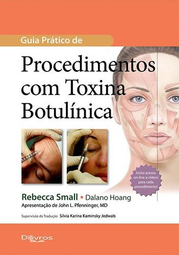 toxina botulínica e preenchimento box com 5 livros