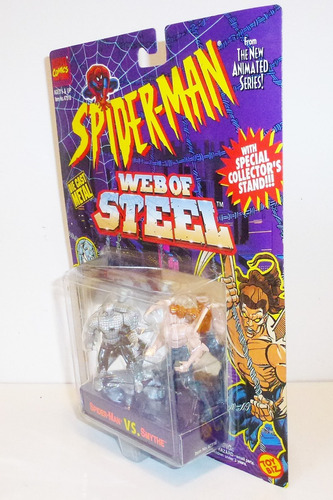 toy biz spiderman vs smythe die cast marvel comics 1994