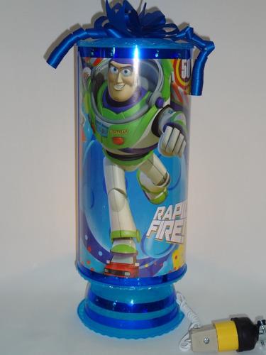 toy story 10 centros de mesa lámparas personalizadas 38 cm a
