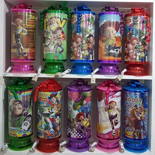 toy story 10 centros mesa lámparas 38 cm altura envío inclui