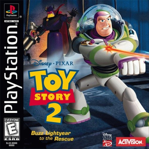 toy story 2 - playstation 1 - psx -