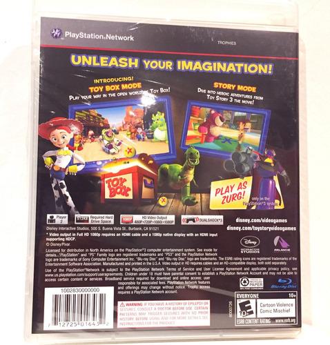 toy story 3 ps3 playstation 3 nuevo disney pixar original