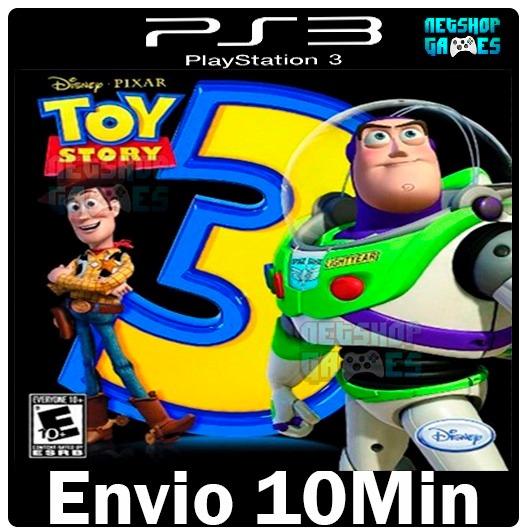 Toy Story 3 Games To Play : Toy story the video game play ps psn jogo digital r