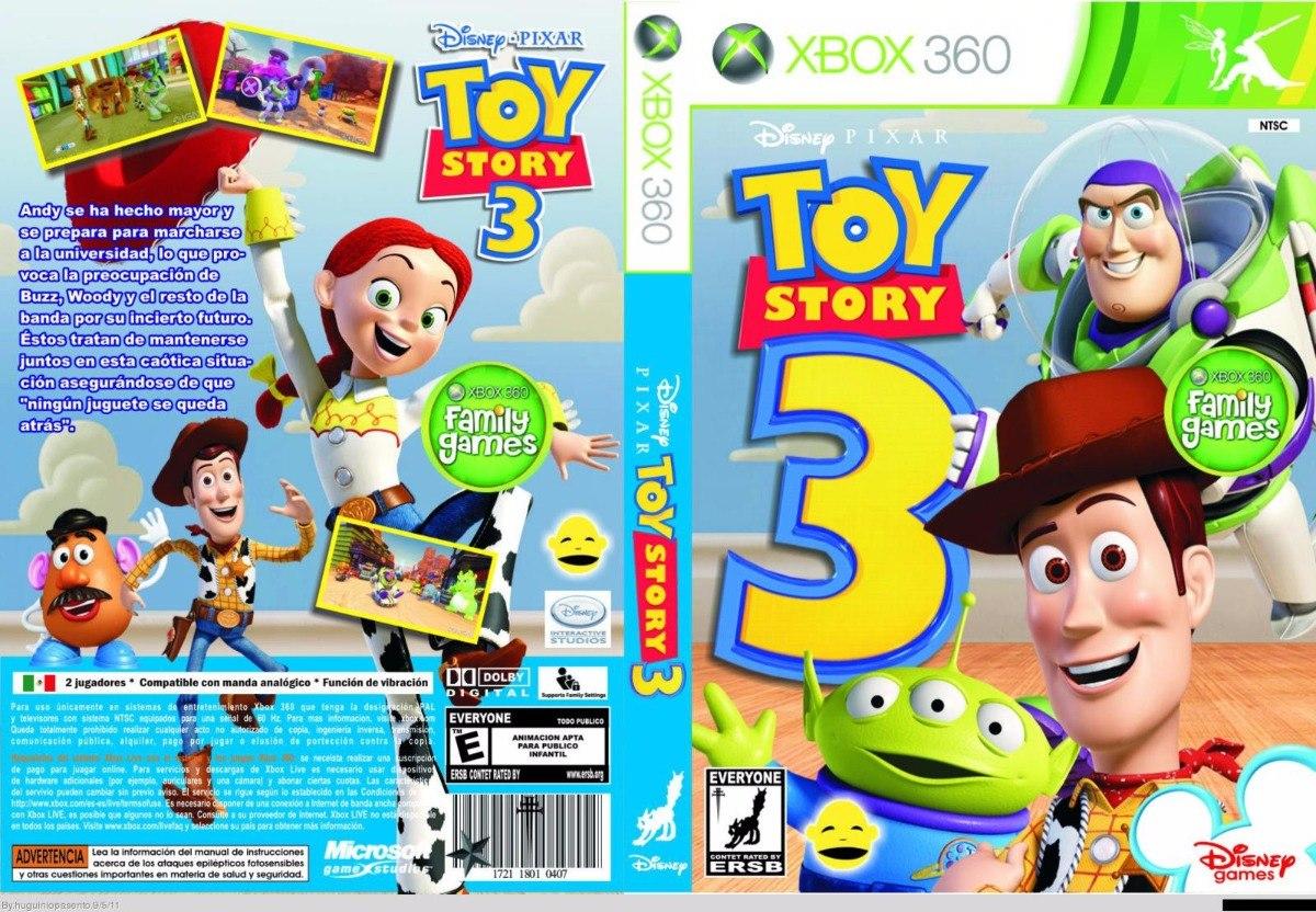 Toy story 3 xbox 360 desbloqueio lt3 0 m dia f sica for Toy story 5 portada