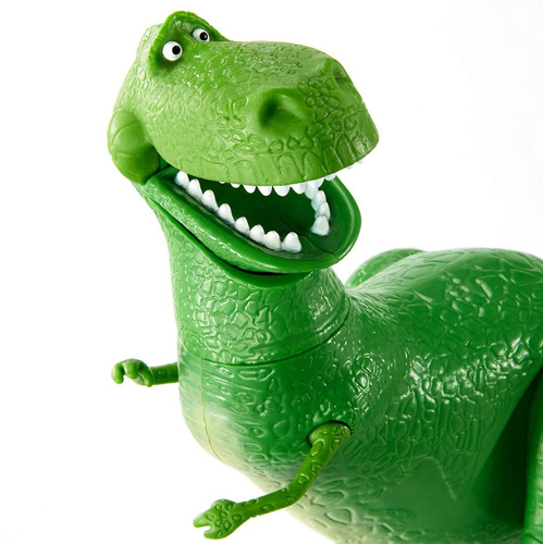 toy story 4 - rex  articulado - disney mattel - 20 cm