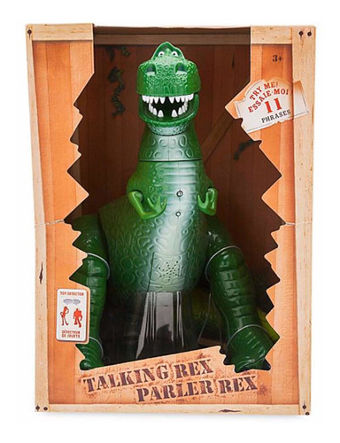 toy story 4 - t-rex interactivo - disney store usa