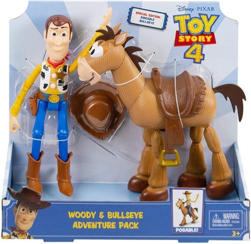 toy story 4 woody y tiro al blanco 28cm en stock