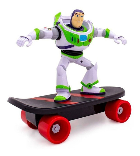 toy story buzz lightyear radical skate a fricción 26 cm