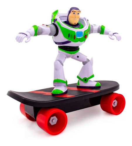 toy story buzz lightyear skate radical fricção