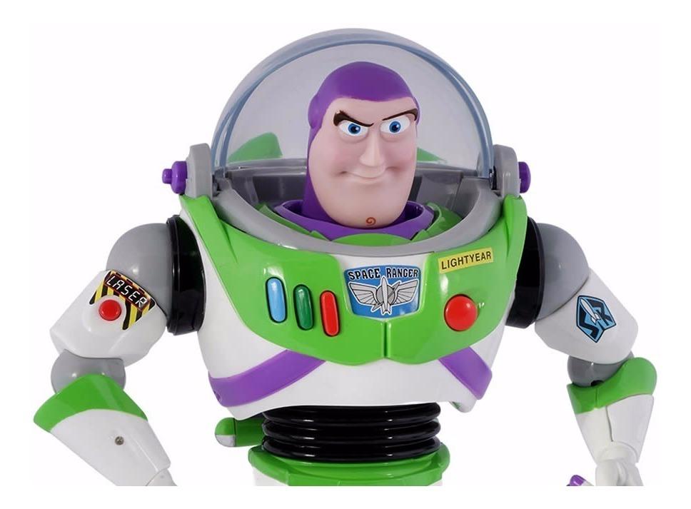 Original Disney Toy Story Buzz Lightyear personaje con sonido y luz inglés