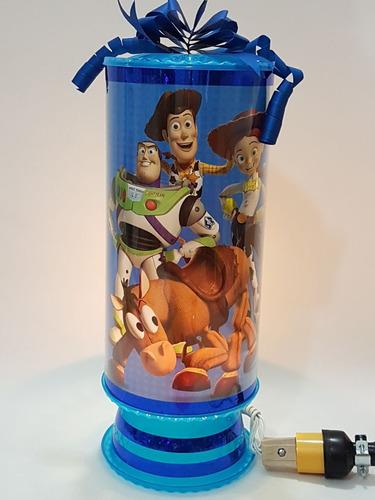 toy story  centros de mesa 10 lamparas personalizadas 38 cm