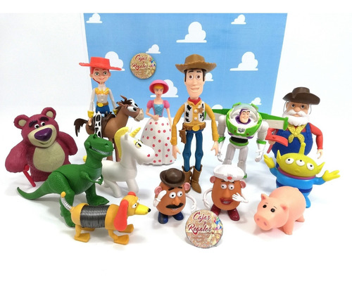 toy story colección 14 personajes woody jessie buzz lotso