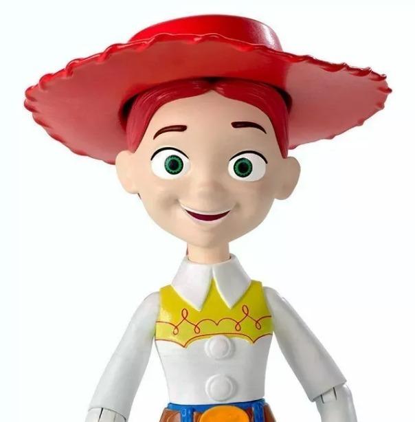 toy story jessie articulada disney pixar mattel 22 cm · toy story disney 1e6eb5bd22b