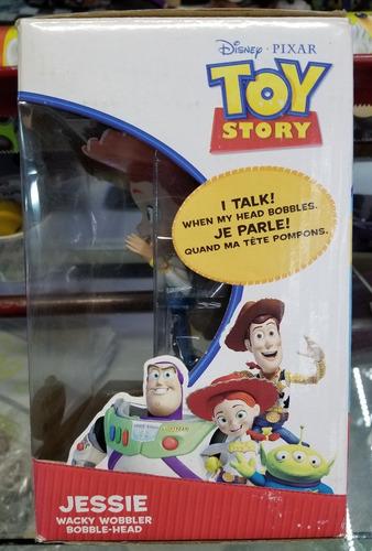 toy story jessie bobble-head con sonido funko disney store