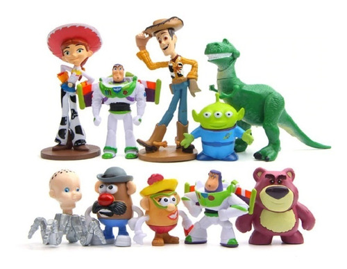 toy story kit 10 unidades action figure pronta entrega