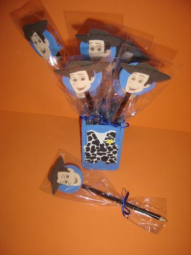 toy story  kit com 12 lápis com ponteira