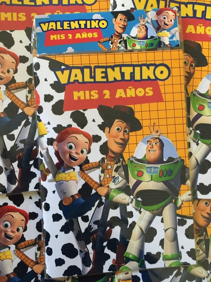 Toy Story Libros Para Colorear Souvenirs Personalizados X20 - $ 399 ...