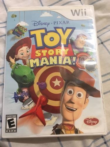 toy story mania! - wii - usado