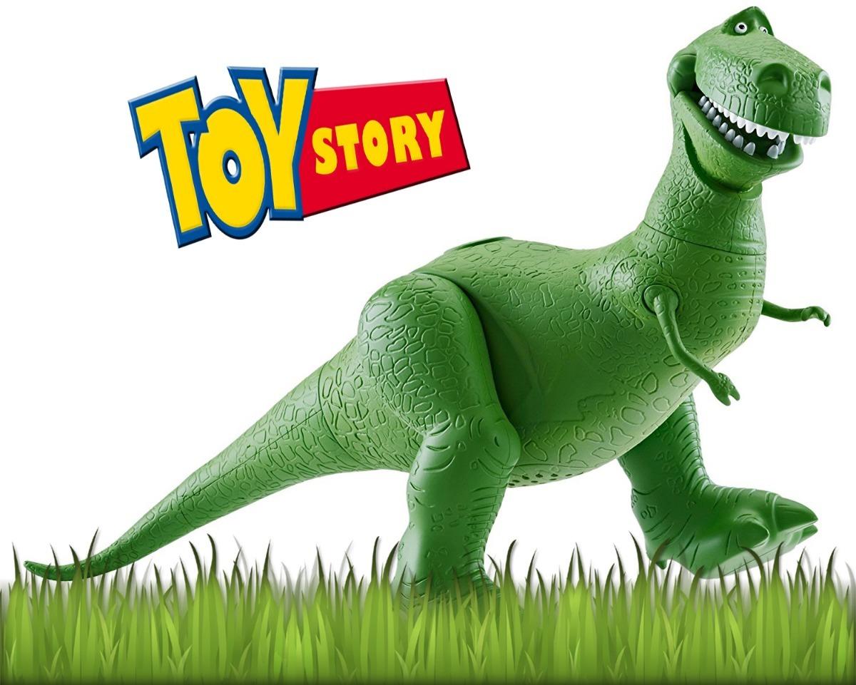Cargando zoom... muñeco toy story original dinosaurio rex c  sonido mattel 82c82ba079e