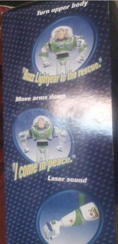 toy story muñeco buzz lightyear a radio control habla camina