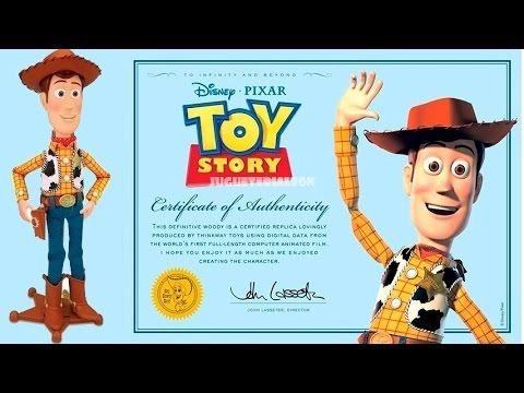 toy story muñeco woody - vaquero interactivo original disney